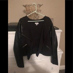 Leather / pure energy jacket